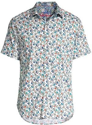Robert Graham Polaroids Short-Sleeve Shirt