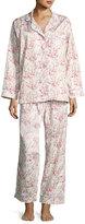 BedHead Floral-Print Classic Pajama Set, Spring Bloom