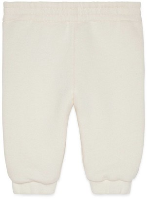 Gucci Baby track bottoms with Tennis