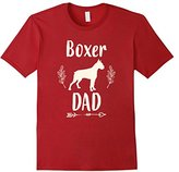 Men's Boxer Dog Dad Shirt Father's Day Dog Lover Gift for Men Him 2XL