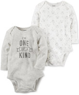 Carter's 2-Pk. One of a Kind Cotton Bodysuits, Baby Boys & Girls (0-24 months)