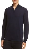 Boss Banello Quarter-Zip Virgin Wool Sweater - 100% Exclusive