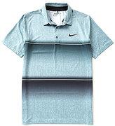 Nike Short-Sleeve Mobility Stripe Polo Shirt