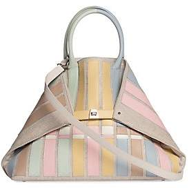 Akris Women's Medium AI Appliqué Canvas Tote