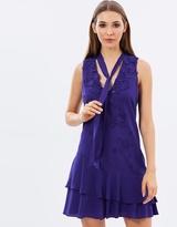 Karen Millen Pussy Bow Dress