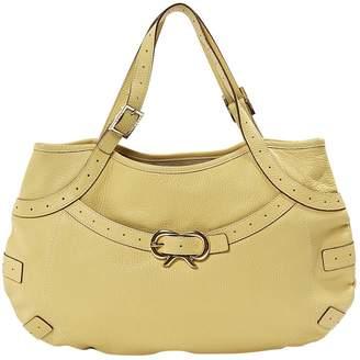 Anya Hindmarch Yellow Leather Handbags