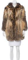Isabel Marant Hooded Fur Jacket