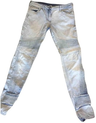 Sandro Blue Cotton Jeans for Women