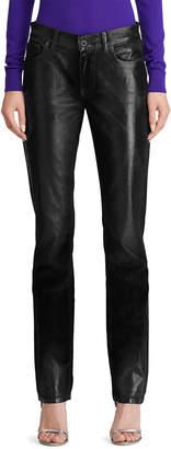 Ralph Lauren Velvet Slim-Leg Jeans