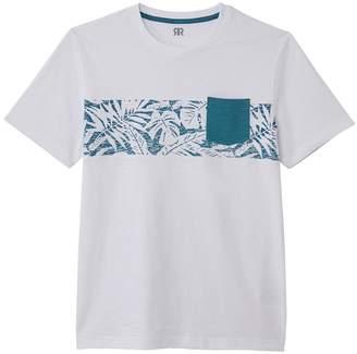 La Redoute Collections Cotton Tropical Print T-Shirt