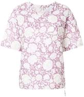 Christian Wijnants short sleeve floral blouse