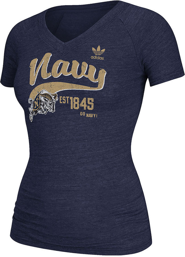 adidas Women's NCAA T-Shirt, Navy