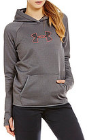 Under Armour Storm UA Logo Raglan Sleeve Solid Fleece Hoodie