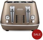 De'Longhi DeLonghi CT14003.BZ Distinta 4 Slice Toaster - Bronze
