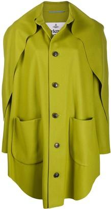Vivienne Westwood Asymmetric Single-Breasted Coat