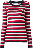 Sonia Rykiel striped jumper - women - Silk/Cotton - S