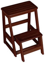 Wildon Home 2-Step Wood Folding Compact Step Stool with 200 lbs. Load Capacity