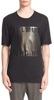 Helmut Lang Men's Foil Graphic T-Shirt