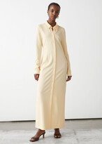 Thumbnail for your product : And other stories Collared Maxi Shirt Dress