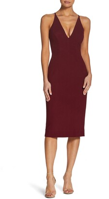 Dress the Population Lyla Crepe Cocktail Dress