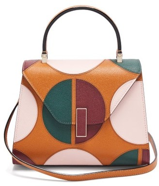 Valextra X La Double J Iside Small Leather Bag - Brown Multi