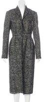 Lanvin Linen & Wool-Blend Coat