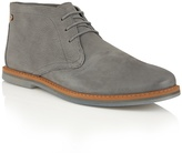 Frank Wright Pewter Leather 'barnet Ii' Lace Up Boots