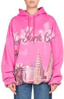 Balenciaga Oversized NYC Hoodie Sweatshirt