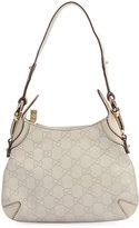 Gucci Ivory Guccissima Mini Hobo Bag