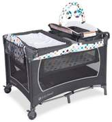 Baby Trend Lil Snooze Ions Deluxe Nursery Center Playard in Blue