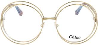 Chloé Eyewear Chloe Eyewear Carlina Round Frame Glasses