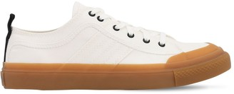 Diesel ASTICO COTTON CANVAS LOW TOP SNEAKERS