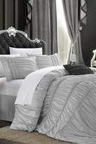 Roning 4-Piece Duvet Cover Set - Silver