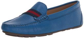 Driver Club Usa Driver Club USA Women's Leather Made in Brazil Grow Gain Ribbon Detail Driver Moc Loafer