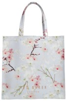 Ted Baker Cherry Blossom Large Icon Tote - Grey