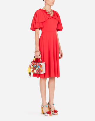 Dolce & Gabbana Charmeuse Midi Dress