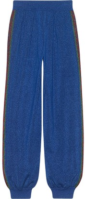 Gucci Jogging pants in wool with lurex