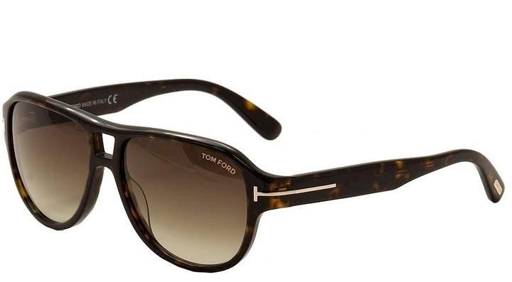Tom Ford Sunglasses TF 446 Dylan 52K Havana 57mm