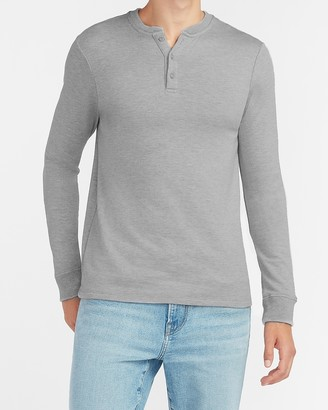 Express Solid Henley
