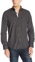 Kenneth Cole New York Men's LS Bdc Bold Check