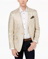 Tallia Orange Men's Modern-Fit Gold Metallic Dinner Jacket