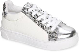 Steve Madden Parka Metallic Low Top Sneaker