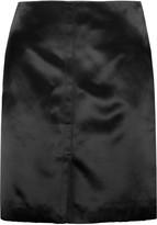 Nina Ricci Satin mini skirt