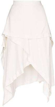 J.W.Anderson Layered Handkerchief Skirt