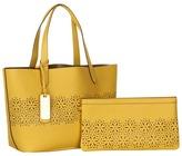 Lauren Ralph Lauren Chantilly Shopper (Lemon Drop) - Bags and Luggage
