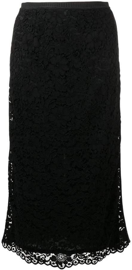 Antonio Marras layered floral skirt