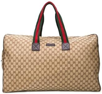 Gucci Pre Owned monogram duffle bag
