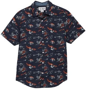 Original Penguin Apres Ski Short Sleeve Shirt