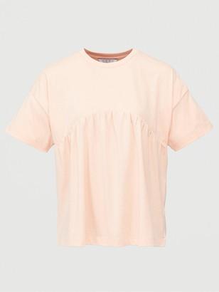 Very Peplum T-Shirt - Pink