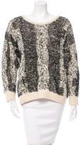IRO Wool & Alpaca-Blend Cable Knit Sweater w/ Tags